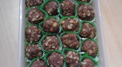 WALNUT-RAW CHOCH TREATS
