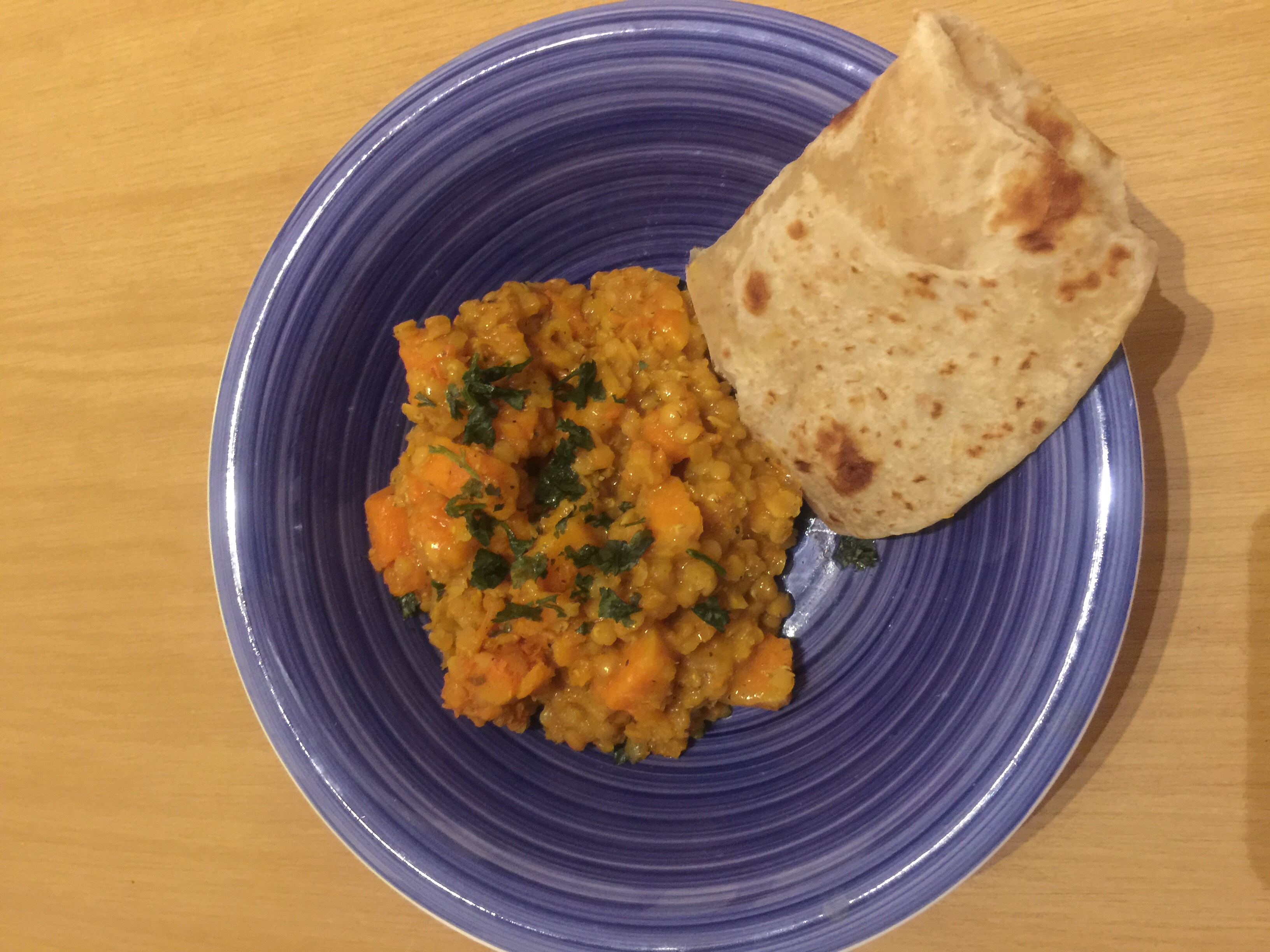 IMG_3895 red lentils & butternut curry